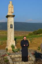 Szent Vendel szobor avatása