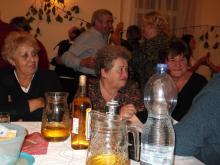 Szüreti bál a Nyugdíjas klubban