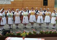 Piliscséviek a 18. Magyarországi Szlovákok Országos Florklórfesztiválon
