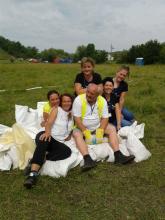 Piliscsév község Települési Önkéntes Mentőcsoportja nagyszabású polgári védelmi és tűzvédelmi gyakorlaton vett részt Máriahalmon.