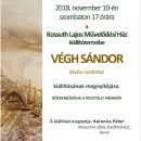 Végh Sándor kiállítás
