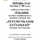 Fényklub meghívó július.