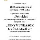 Fényklub agusztus.