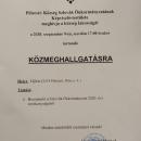 Szlovák közmeghallgatás.